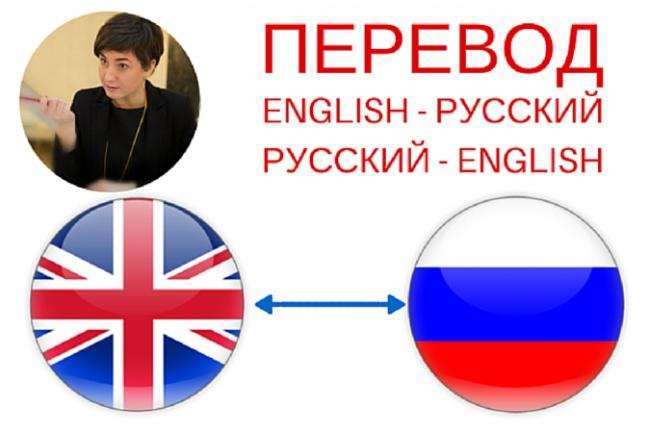Перевод с английского/на английский 1 - kwork.ru