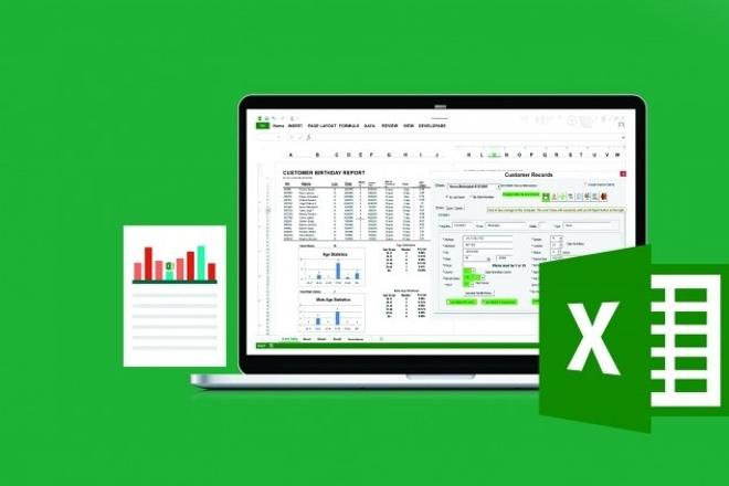 Таблицы и формулы в ExcelПерсональный помощник<br>Наберу таблицы в формате Excel, вставлю формулы для быстрого подсчета. Большой опыт бухгалтерских таблиц для расчета налогов и взносов.<br>