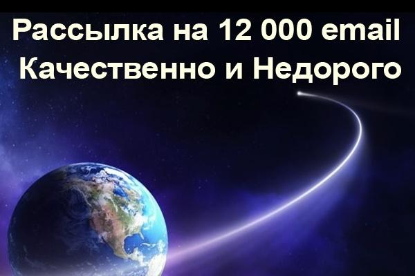 Рассылка на 12000 email - Качественно и Недорого 1 - kwork.ru