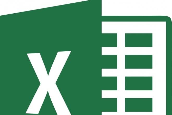 Произведу расчеты в Excel по вашим данным 1 - kwork.ru