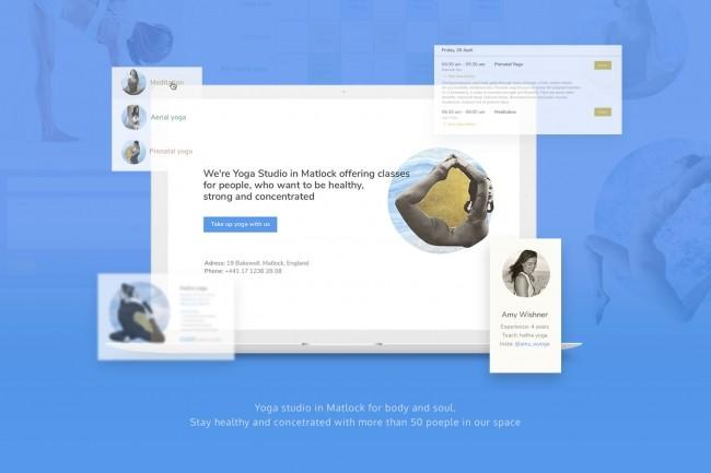 UI UX. Веб-дизайн. Лендинг, посадочная страница 1 - kwork.ru