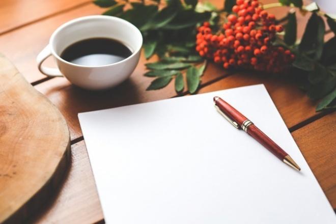 напишу качественную статью любой тематики для Вашего сайта 1 - kwork.ru
