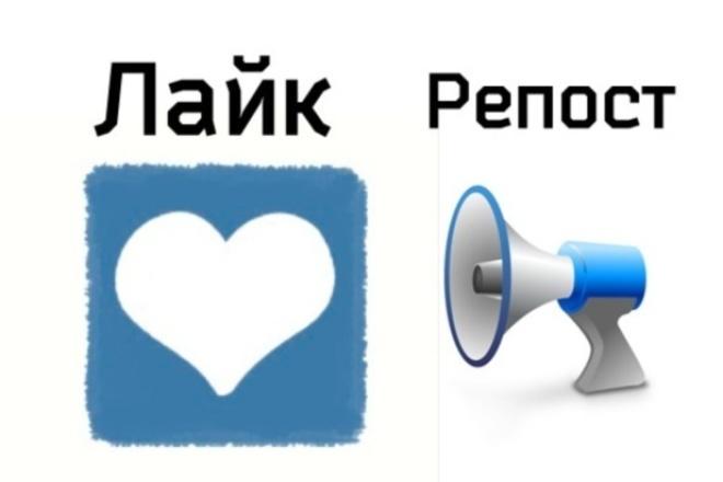 Сделаем 250 качественных репостов Вконтакте 1 - kwork.ru