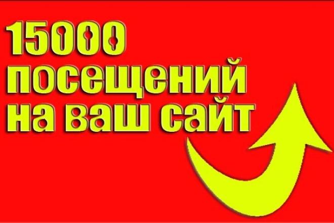 Улучшение посещаемости сайтов 1 - kwork.ru
