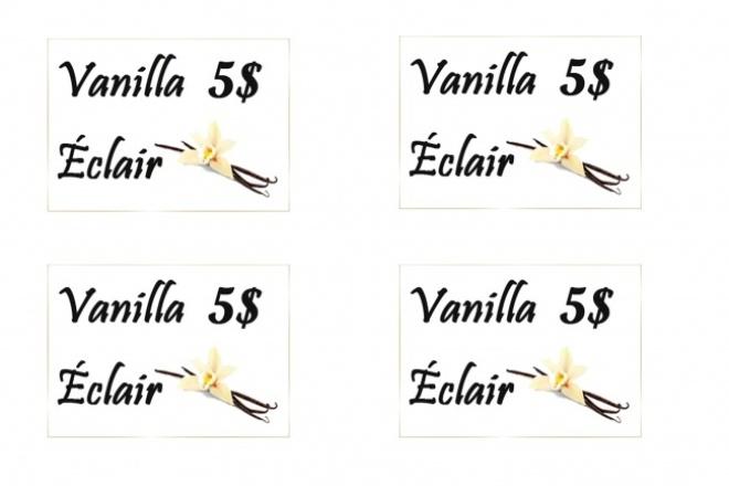 Сделаю флажки для блюд и именные визиткиГрафический дизайн<br>Готова разработать для вас флажки для блюд, флажок-ценники в витрины и именные визитки для мероприятий. Индивидуальный оригинальный дизайн. Быстрота работы и качество.<br>