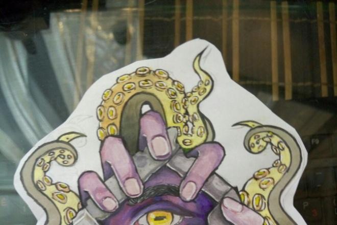 Нарисую эскиз для татуировкиИллюстрации и рисунки<br>1.Нарисую эскиз по вашей идеи 2. Подкорректирую ваш эскиз Срок работы 3 дня В заказ входит одна иллюстрация. Возможны доработки и корректировки<br>