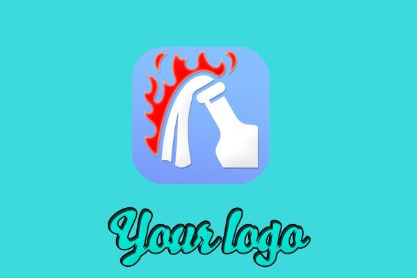 Логотип в стиле иконка 1 - kwork.ru