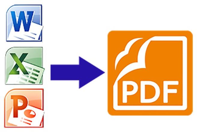 Конвертирую в pdf презентацию powerpoint, текстовый документ 1 - kwork.ru