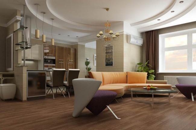 3D визуализация интерьера или экстерьера по вашим эскизамМебель и дизайн интерьера<br>Создам фотореалистичную визуализацию интерьера или экстерьера по вашим эскизам. Визуализация необходима для презентации вашего дизайн-проекта заказчику, для понимания, как будет выглядеть ваша квартира или дом после ремонта.<br>