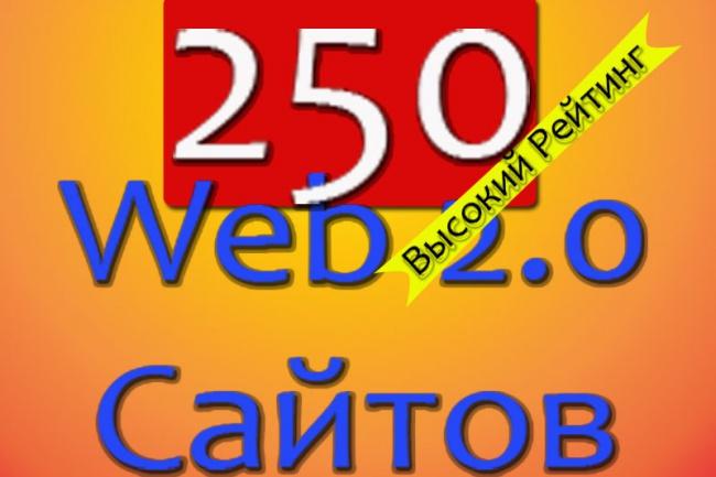 сделаю 250 Web 2.0 сайтов Под Ключ с Тиц от 20 1 - kwork.ru