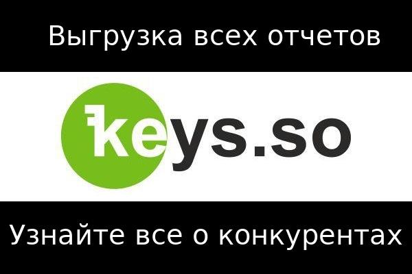 Keys. so - Все запросы конкурентов 1 - kwork.ru