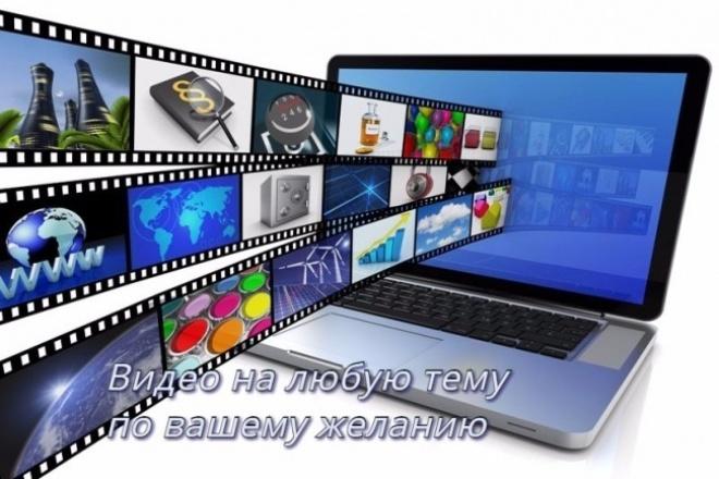 Создание видеоролика из вашего видео и фото, наложу музыку, эффекты 1 - kwork.ru