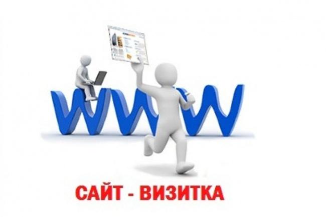 сделаю сайт-визитку 1 - kwork.ru