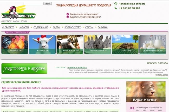 Напишу и размещу 1 статью на сайте сельхоз тематики 1 - kwork.ru