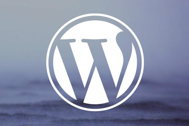 Установка WordPress + Premium шаблон + платный софт 1 - kwork.ru