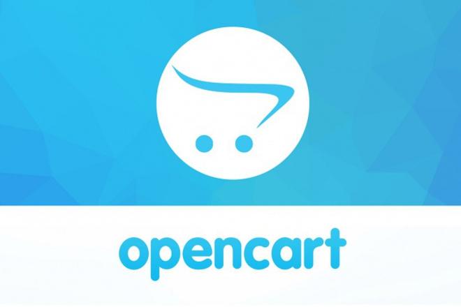 Интернет-магазин на OpenCart 1 - kwork.ru