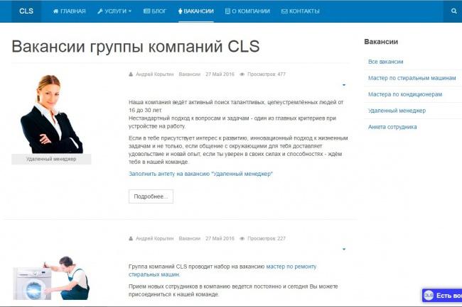 Доделаю Ваш сайт 1 - kwork.ru