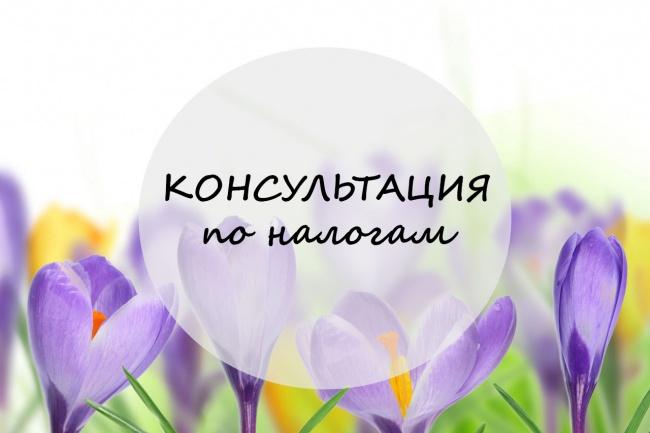 Проконсультирую по налогам и учету 1 - kwork.ru
