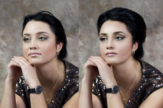 Обработаю портрет 1 - kwork.ru