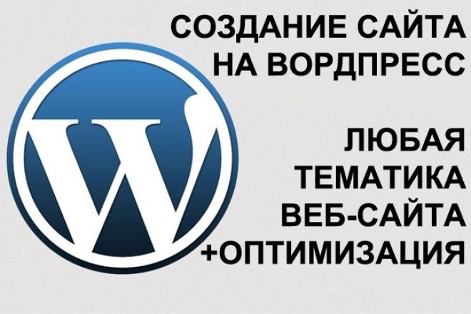 сделаю сайт на вордпресс 1 - kwork.ru