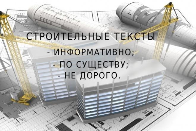 напишу статью строительной тематики 1 - kwork.ru