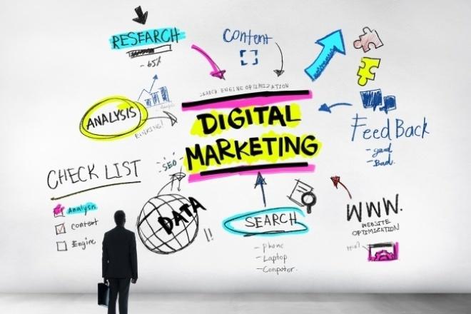 Сделаю аудит вашей digital- или SMM-стратегииАудиты и консультации<br>Я более 2 лет работал групхедом отдела digital-маркетинга в крупном агентстве, а сейчас руковожу маркетингом мобильного приложения Fentury. В общем, опыт написания стратегий продвижения в интернете и их выполнения у меня довольно большой. Дам полноценный фидбэк вашей стратегии с объемным пояснением по всем пунктам.<br>