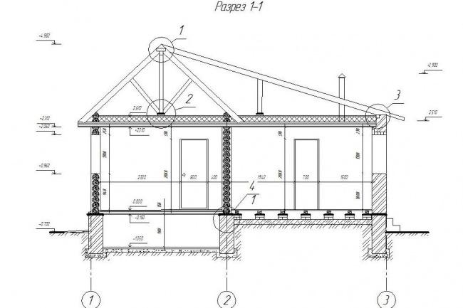 Могу начертить разрез жилого дома в Kompas 3dМебель и дизайн интерьера<br>Здравствуйте. Могу сделать чертеж разреза жилого дома. Максимальное время выполнения заказа двое суток.<br>