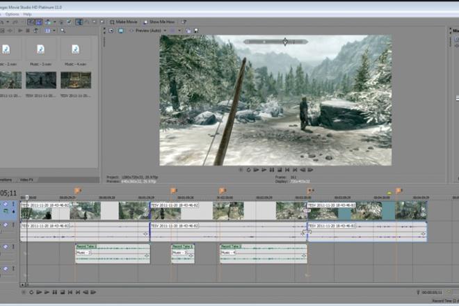 Монтирую видео любой сложностиВидеоролики<br>Монтирую видео любой сложности до 1 часа. Возможно создание индивидуального интро и аутро с элементами псевдо-3D.<br>