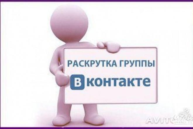 1000 Подписчиков в группу Вк 1 - kwork.ru