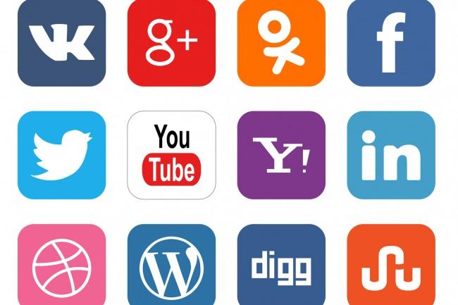 Создам профиль в соцсетях. Активирую 1 - kwork.ru
