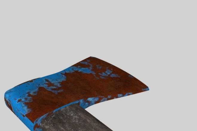Смоделирую 3D модельФлеш и 3D-графика<br>Смоделирую 3d модель,мебели, оружия, автомобиля, высокополигональную или низкополигональную с текстурами и без. В программе 3dmax 2015 по вашим чертежам или рисункам.<br>