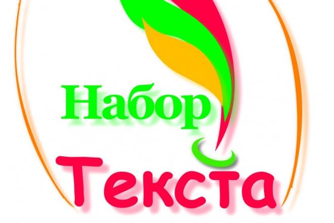 Наберу ваш текстНабор текста<br>Наберу текст на Русском языке (если будут присутствовать несколько фраз на Английском не страшно). Со сканированных страниц документа, фото, изображений.<br>