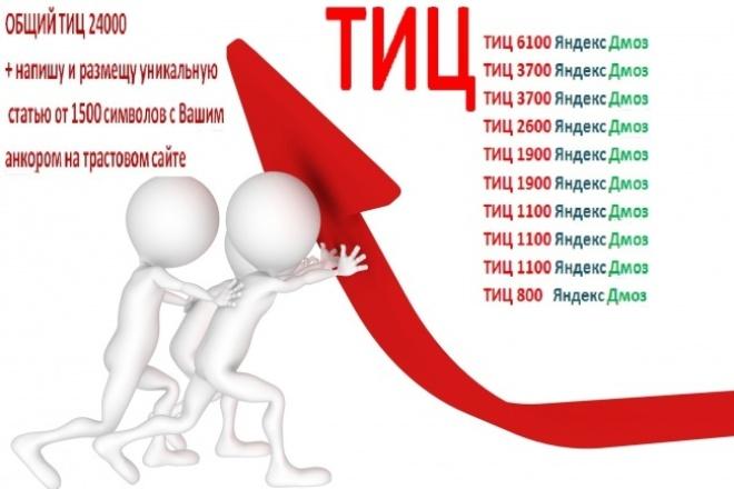 10 мощнейших ссылок + анкорная ссылка со статьи 1 - kwork.ru
