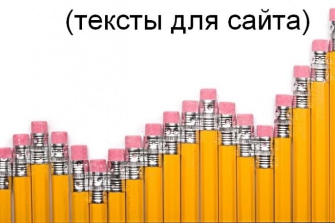 Пишу продающие и информационные тексты 1 - kwork.ru