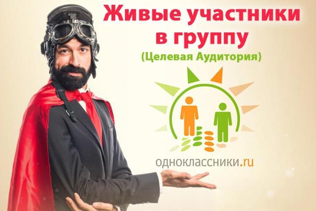 """370 живых вступивших в группу """"Одноклассники"""" - для вашего бизнеса ЦА 1 - kwork.ru"""