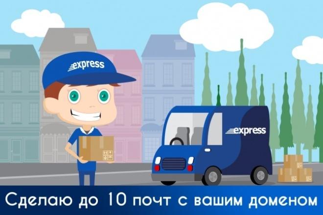Сделаю доменную почту для вашего сайта 1 - kwork.ru