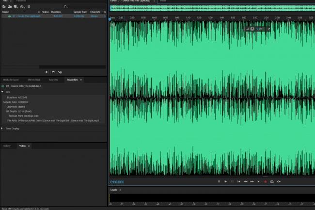 Обработка аудиодорожек с голосом/музыкойРедактирование аудио<br>Я занимаюсь обработкой аудио, могу убрать шумы со звуковой дорожки, а также хрипы, щелчки и прочее.<br>