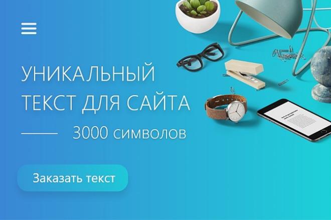 Уникальная статья 3000 символов 1 - kwork.ru