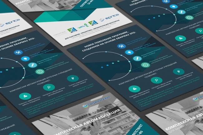 Отличный дизайн и верстка листовки а4 1 - kwork.ru