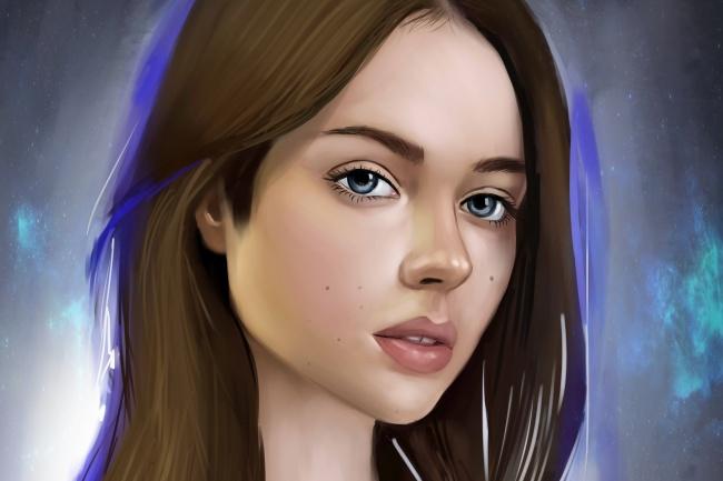 Нарисую cg-портрет 1 - kwork.ru