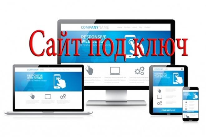 Сайт под ключ за 2 дня 1 - kwork.ru