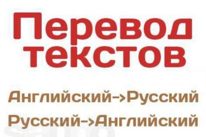 Переведу текст с английского на русский и наоборотПереводы<br>Готов взяться за перевод ваших текстов с английского языка на русский и наоборот. Время перевода будет зависеть от объема и сложности текста.<br>