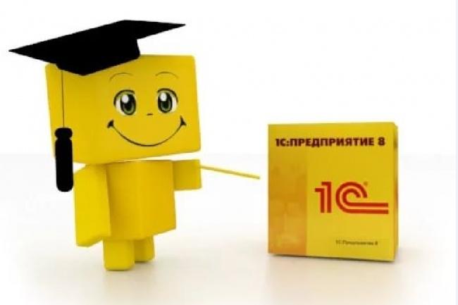 Консультирование и обучение в 1С БП ЗУП УТ Розница УНФ КА УПП ERP 1 - kwork.ru