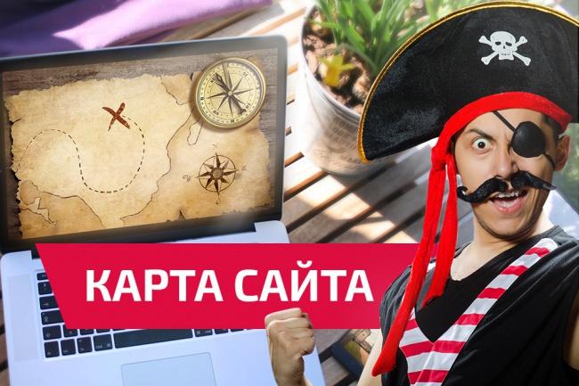 создам или обновлю карту сайта 1 - kwork.ru