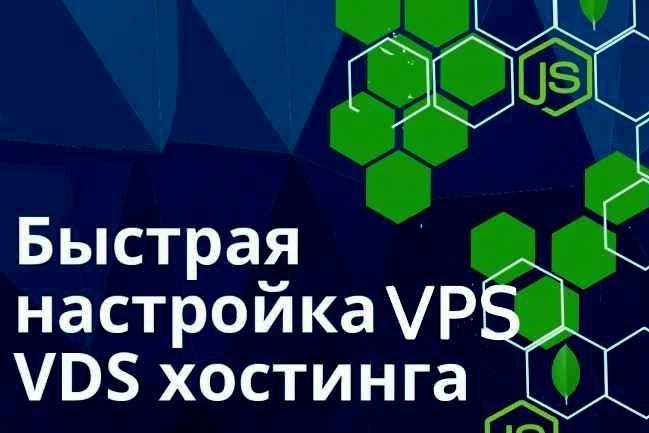 Настройка VPS или VDS хостинга 1 - kwork.ru