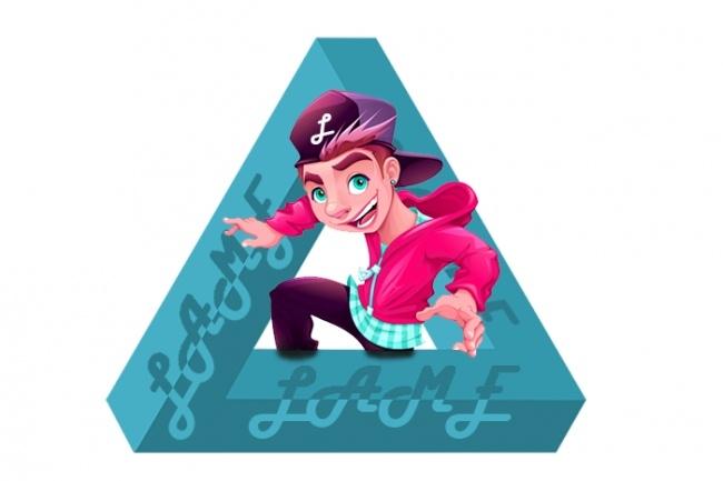 Оригинальный логотип для вас 1 - kwork.ru