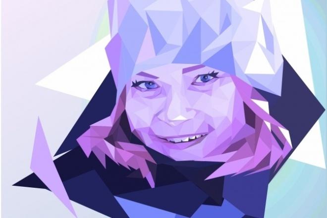 Нарисую стилизованный портрет по фотографии 1 - kwork.ru