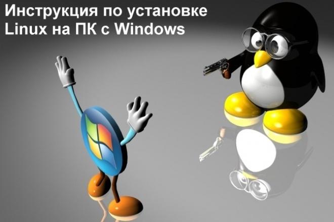 Инструкция по установке Linux - избавься от глюков Windows 1 - kwork.ru