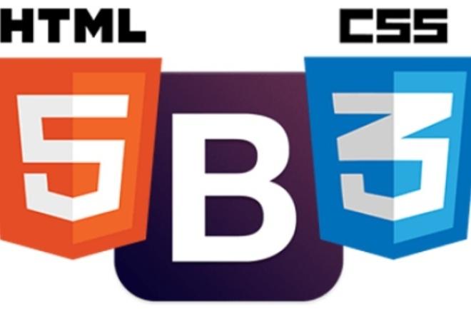 Адаптивная верстка из PSD в html+CSS 1 - kwork.ru