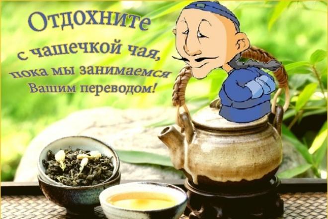 Перевод с китайского и на китайский от носителя языка 1 - kwork.ru